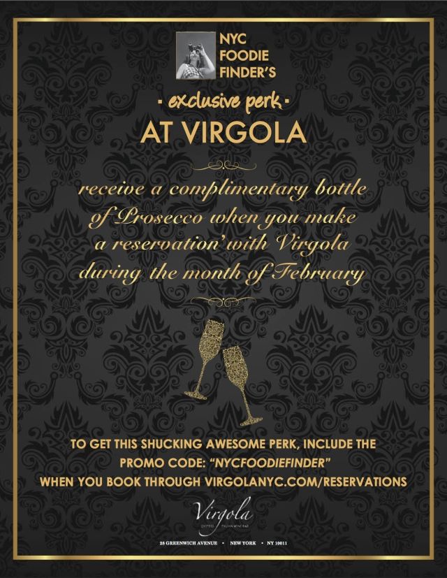 Virgola February Perk